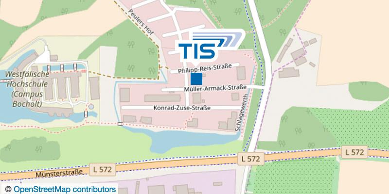TIS GmbH Wegbeschreibung