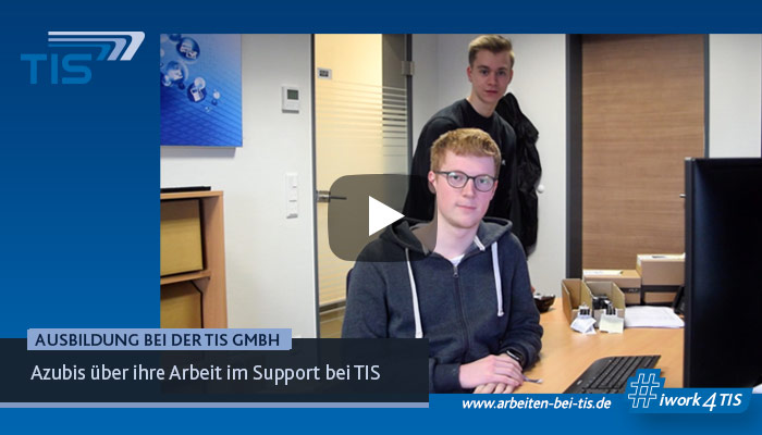 Ausbildung im Support der TIS GmbH