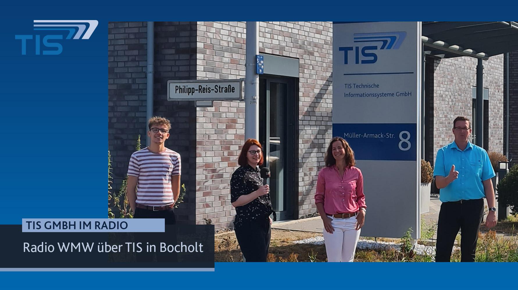 Radiobericht auf Radio WMW über die TIS GmbH