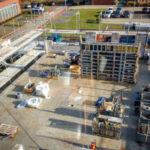 Bauphase unsers Anbaus | TIS Gmbh