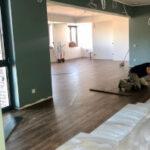 Bauarbeiten am TIS Café