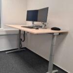 Steharbeitsplatz bei der TIS GmbH