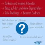 Tipps für dein Bewerbungsgespräch | TIS GmbH