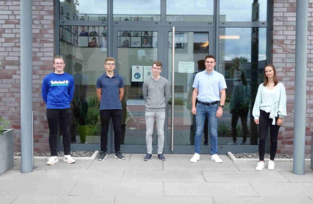 Ausbildung bei der TIS GmbH | Azubis 2021