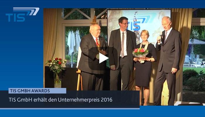 TIS GmbH Unternehmen des Jahres